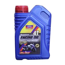 Dana 4T Premium High Mileage Engine Oil, Pack Size: 1 Liter, Packaging Type: Can