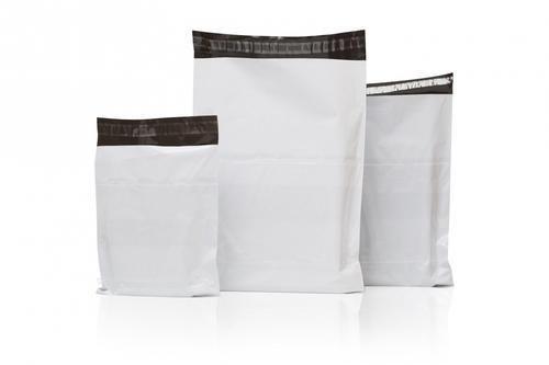 White Tamper Proof Courier Bag