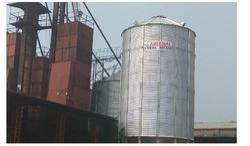 Grain Storage Hopper Bottom Silos