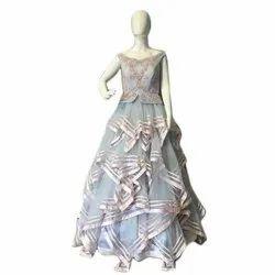Hankey Cut Party Gown
