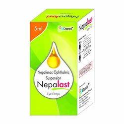 Nepafenac 0.1% Eye Drops (Nepalast)