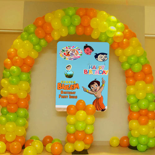 Chhota Bheem Birthday Party Decoration Service In Charholi Budruk
