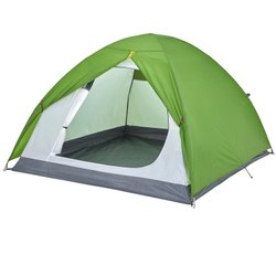 Quechua Three Person Green Arpenaz Camping Tent