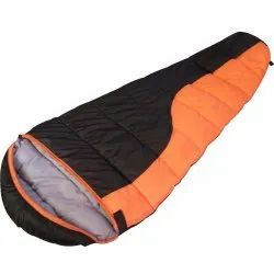 10D 100% Polyester sleeping bag, Size: 7 Ft * 3 Ft