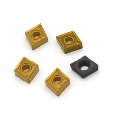 Golden And Black Square Brass Carbide Inserts