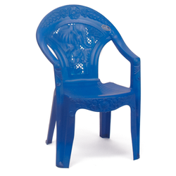 Blue Plastic Baby Chair