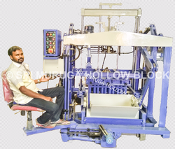 Fully Automatic Hollow Bock machine (Auto Feeder)