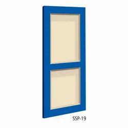 Termite Proof Solid Panel PVC Door