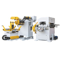 Cradle Type Decoiler with NC Servo Straightener Feeder