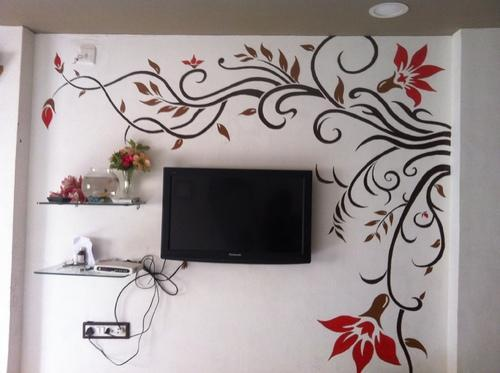 Wall Painting Fancy Wall Painting Services Architect Interior