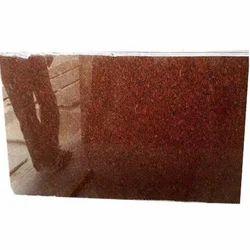 Gems Stone Ruby Red Granite Slab