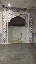 inlay Qibla mimber