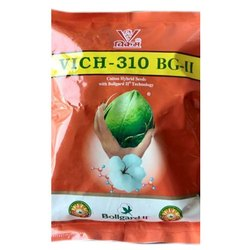Natural Vich 310 BG II Cotton Hybrid Seeds, For Agriculture, 450 Gm