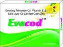 Evening Primrose Oil Vitamin E and Cod Liver Oil Softgel Capsules