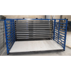 Horizontal Sheet Storage Rack