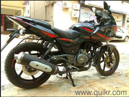 Used Bajaj Pulsar 220 F View Specifications Details Of Second