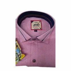 Cotton Collar Neck Mens Stylish Shirt