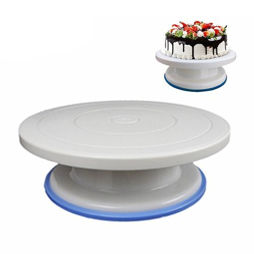 Cake Decorating Turntable Cake Turn Table Cake Stand Baking Tool Rotary  Table