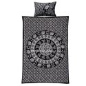 Twin Mandala Printed Blanket Cover with 2 Pillow Covers
