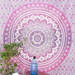 Pink Ombre Tapestries
