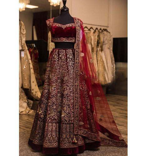 Heavy Embroidery Designer Traditional Lehenga