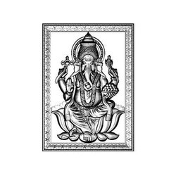 Ganesha Pattern Sheet Metal Components