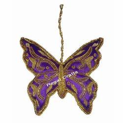 Zari Embroidery X-Mas Hanging