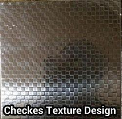 Checkes Texture Stainless Steel Sheets