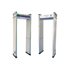 Door Frame Metal Detector With Temperature Detection