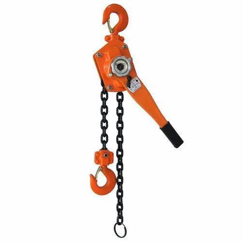 Ezzilift orange Lever Block, Size/Capacity: 1.5 Ton, Rs 4200 /piece   ID:  21764903073