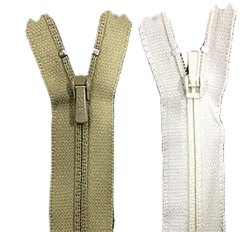 Pin-Lock Woven Tape YKK LFC-32 Trouser Coil Zipper, For Pants,Trousers, Size: 8 Inches