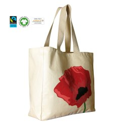 organic cotton shopper bag