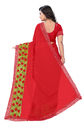 Women's Chiffon Saree With Blouse