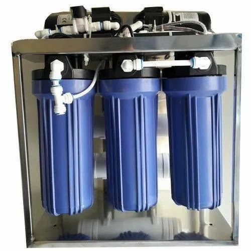 Reverse Osmosis 25 LPH Water Purifier Plant, Automation Grade: Semi-Automatic
