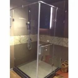 Glass Shower Cubicle Partition
