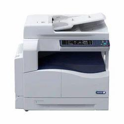 White And Blue Xerox Monochrome Multifunction Laser Printer, Work Center 5022