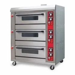 Electric 3 Deck 9 Trays Oven