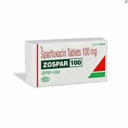 SPARFLOXACIN 100 MG TABLET