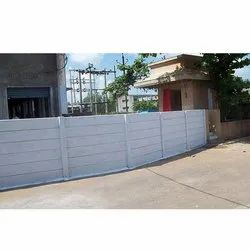 6 Feet Cement Compound Wall