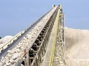 Stainless Steel Belt Conveyors, Capacity: 50-100 Kg Per Feet