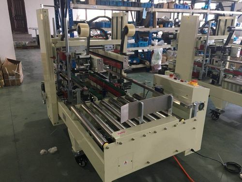 ARJUN PACKAGING MACHINE Automatic Carton Corner Sealer Machine, AS723
