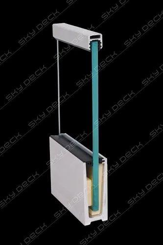SD01 Aluminium Glass Profile