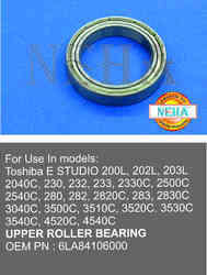 Models, Toshiba E STUDIO 200 L TO 233 / 2330C TO 4540 UPPER ROLLER BEARING OEM PN - 6LA84106000