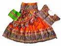 Kutchi Garba Navratri Wear Chaniya Choli - Rabari Work Ghagra Choli - Girls Wear