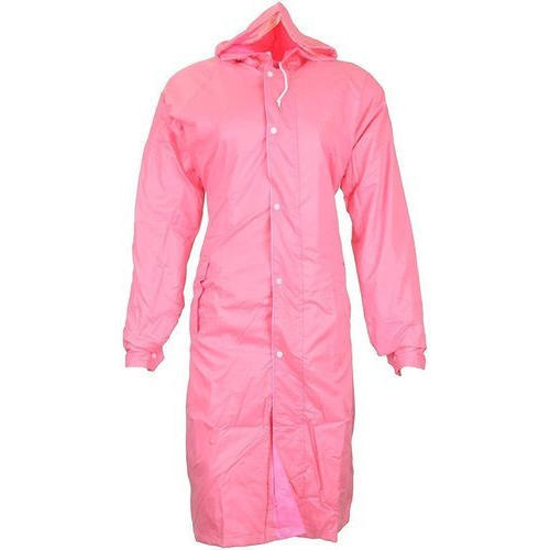 15860ce74 Women Plain Polyester Long Raincoat, Size: Free Size, Rs 450 /piece ...