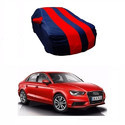 Red And Navy Blue Car Body Cover
