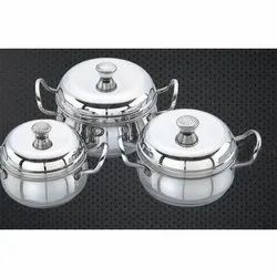 Flamingo Stainless Steel Handi Set