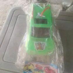 Green Plastic Car