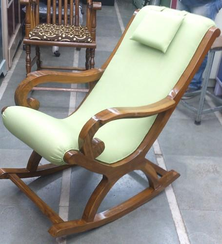 Wooden Rocking Chair For Bedroom Rs 8500 Piece Rolex