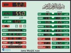 Fully Automatic Namaz Time Indicator